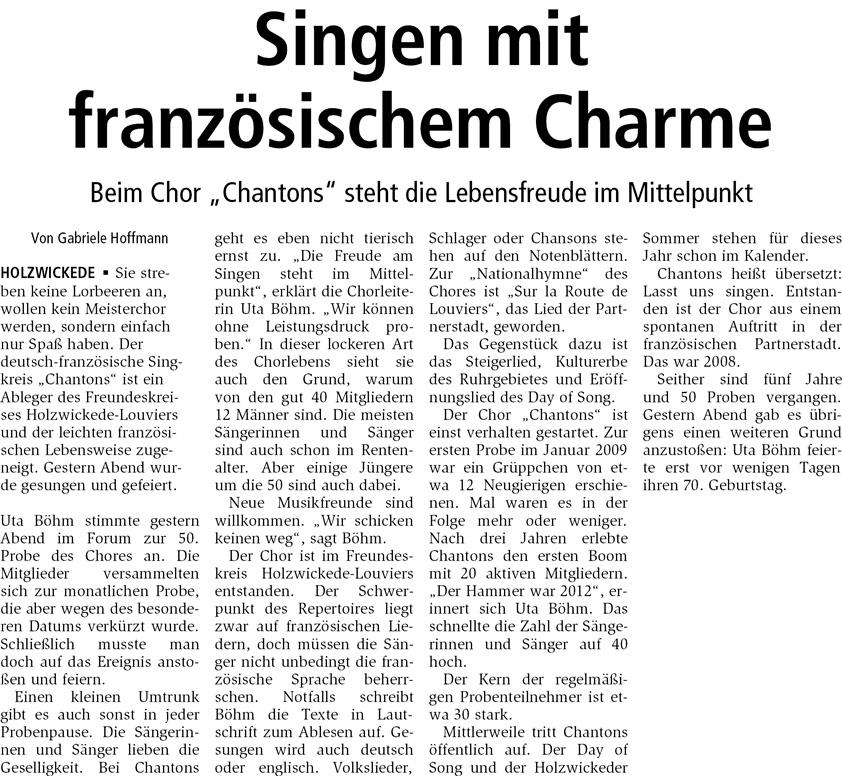 HA 28.1.2014 Chantons