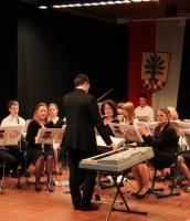 Viel Beifall für das Louvierser Stadtorchester…