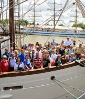 Segel-Armada begeisterte unsere Reisenden