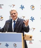 Bundespräsident Gauck auf dem VDFG-Kongress in Bonn